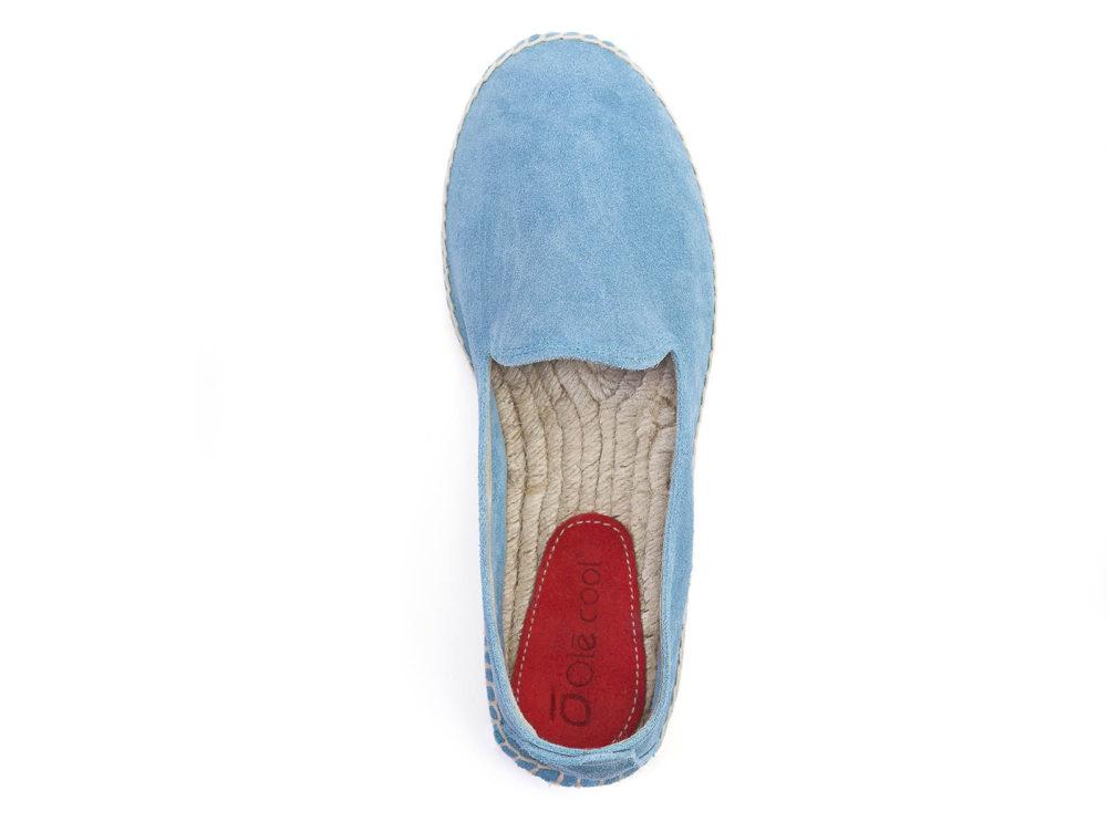 alpargatas azules para chica marca Olécool