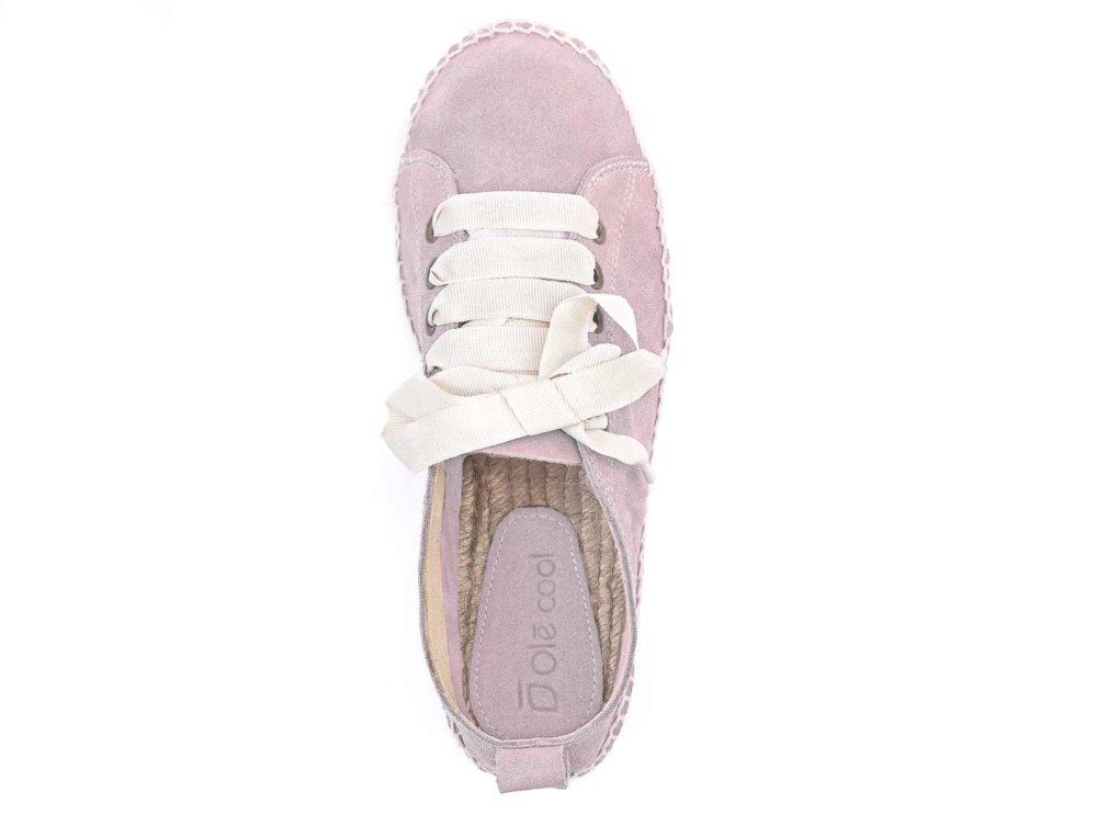 alpargatas rosa para chica marca Olécool